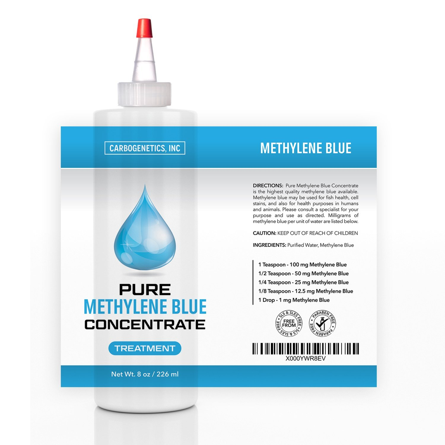 Methylene blue carbogenetics for Methylene blue for fish